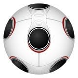 Vector voetbalbal. Royalty-vrije Stock Afbeelding