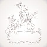Vector vogel royalty-vrije illustratie