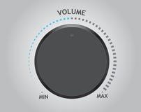Vector volume dial Stock Photos