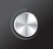 Vector volume knob Royalty Free Stock Photo