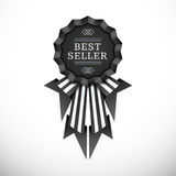 Vector volumetric badge flat design Royalty Free Stock Photo