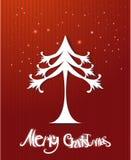 Vector vrolijke Kerstmis Royalty-vrije Stock Afbeelding