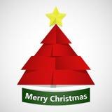 Vector Vrolijke Kerstmis Stock Foto's
