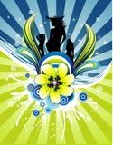 Vector vrouwenillustratie Stock Afbeelding
