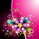Vector vrouwenillustratie Stock Foto