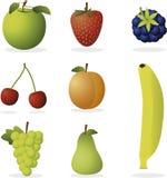 Vector vruchten Stock Foto