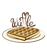 Vector Waffle Royalty Free Stock Image