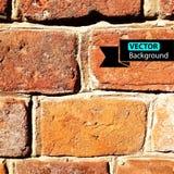 Vector wall brick, grunge background. EPS Royalty Free Stock Photo