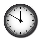 Vector wall clock Stock Images
