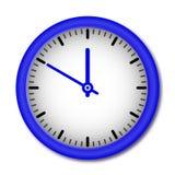 Vector wall clock Royalty Free Stock Photos