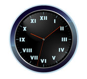 Vector wall clock Stock Photography