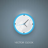 Vector wall clock icon Royalty Free Stock Image