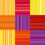 Vector wallpaper with colorful stripe. line stripe style color d Stock Photography