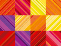 Vector wallpaper with colorful stripe. line stripe style color d Royalty Free Stock Image