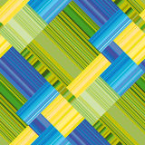 Vector wallpaper with colorful stripe. line stripe style color d Stock Images
