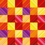 Vector wallpaper with colorful stripe. Stock Photos