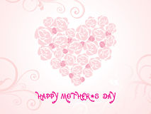 Vector wallpaper for mothers day Stock Photos