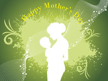 Vector wallpaper for mothers day Stock Photography