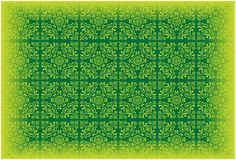 Vector Wallpaper Pattern Coloured green Stock Images