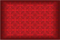 Vector Wallpaper Pattern Coloured Red Stock Photos
