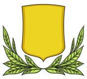 Vector wapenschild Royalty-vrije Stock Fotografie