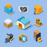 Vector Warehouse Equipment Royalty Free Stock Photo