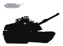 Vector warfare Royalty Free Stock Image