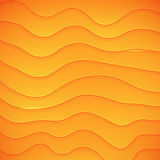 Vector warped lines background. Modern abstract creative backdrop Royalty Free Stock Image