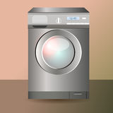Vector washing machine Stock Image