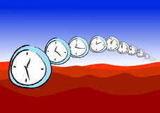 Vector watches surreal Royalty Free Stock Photography