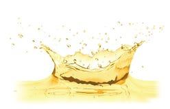 Vector water splash crown Royalty Free Stock Image