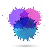Vector watercolor abstract design Royalty Free Stock Photos