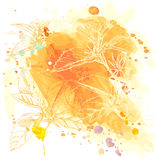 Vector Watercolor Background Royalty Free Stock Images