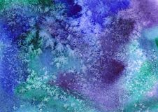 Vector watercolor background. Abstract art hand Stock Images