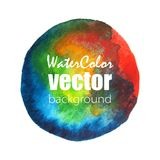 Vector watercolor background. Vector abstract watercolor background. Hand drawn watercolor backdrop. Eps10 Royalty Free Stock Images