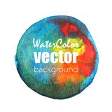 Vector watercolor background. Vector abstract watercolor background. Hand drawn watercolor backdrop. Eps10 Stock Image