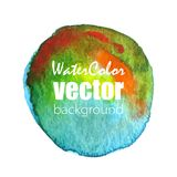 Vector watercolor background. Vector abstract watercolor background. Hand drawn watercolor backdrop. Eps10 Stock Photos