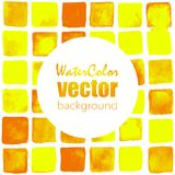 Vector watercolor background. Vector abstract watercolor seamless background. Hand drawn watercolor backdrop. Eps10 Royalty Free Stock Image