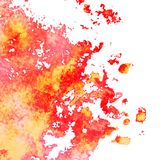 Vector watercolor background. Vector colorful watercolor texture background, abstract illustration Stock Photography