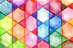 Vector Watercolor Background Royalty Free Stock Photography