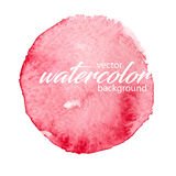 Vector watercolor background Stock Photo