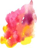 Vector watercolor background Stock Image