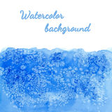 Vector watercolor background with salt effect Royalty Free Stock Photo