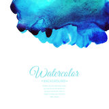 Vector watercolor background Stock Photography