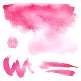 Vector. Watercolor blots. Royalty Free Stock Photo