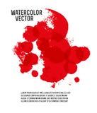 Vector watercolor brush stroke Stock Photo