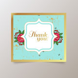 Vector watercolor colorful  floral  with summer Stock Photography