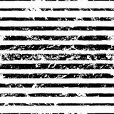 Vector watercolor different sized stripes grunge seamless patter Stock Images
