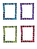 Vector Watercolor Frames Royalty Free Stock Images