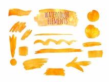 Vector watercolor paint texture Stock Photos